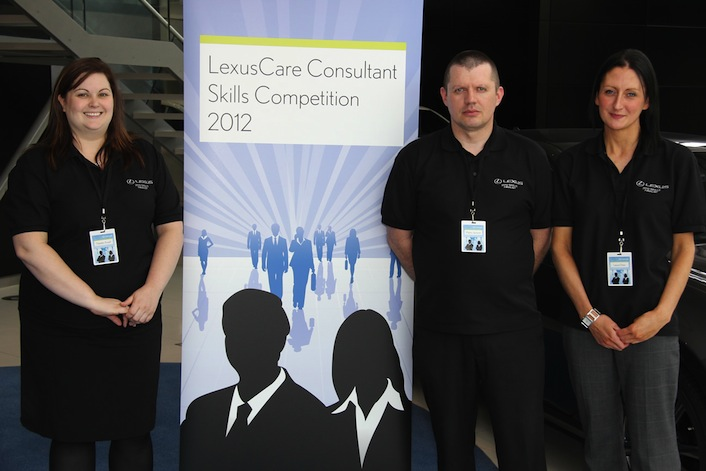 Finalists of the LexusCar Consultant Skill Competition 2012