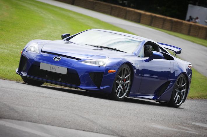 Lexus LFA at Goodwood Festival of Speed 2012