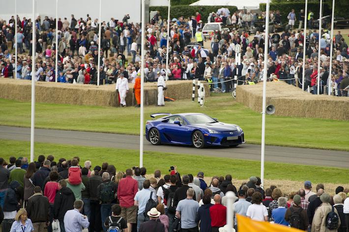 Lexus LFA Goodwood Festival of Speed