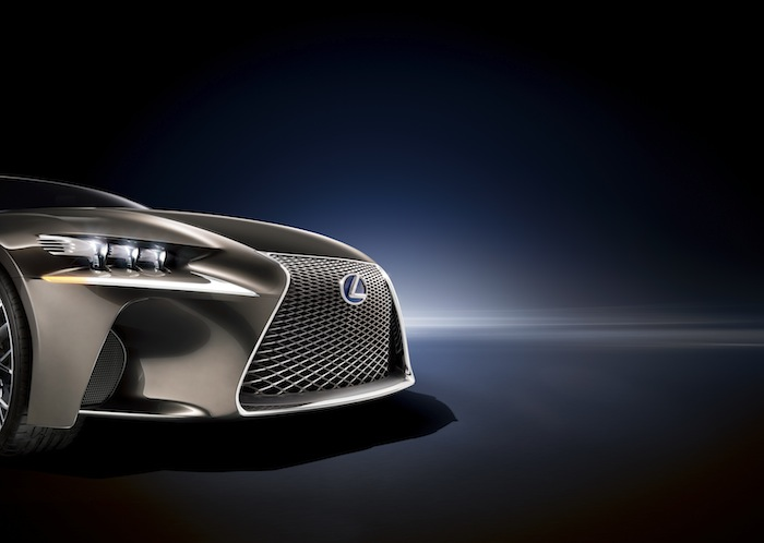Lexus LF-CC grille