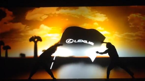 Lexus LS Battle Runner