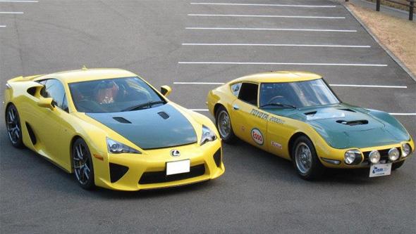 LFA-and-2000GT
