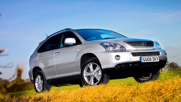 RX 400h full hybrid luxury SUV