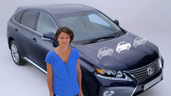 Amanda Stretton Lexus RX