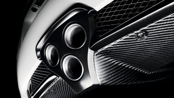 LFA exhaust Lexus and the carbon fibre wonder-weave