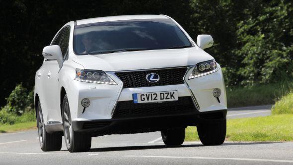 2012 Lexus RX moving