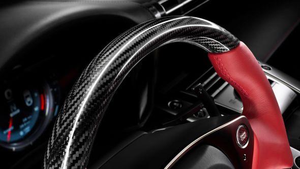 LFA steering wheel