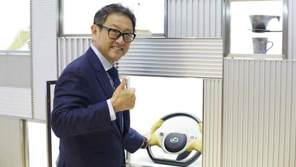 INTERSECT Akio Toyoda