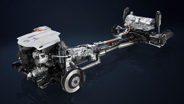Lexus LS 600H HYBRID SYSTEM