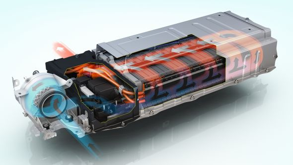 Lexus Hybrid Synergy Drive battery