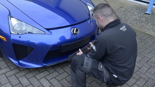 Lexus LFA ultimate car cleaning guide detailing