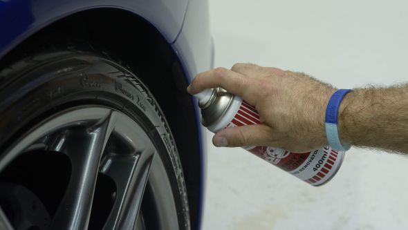 Lexus LFA ultimate car cleaning guide tyres