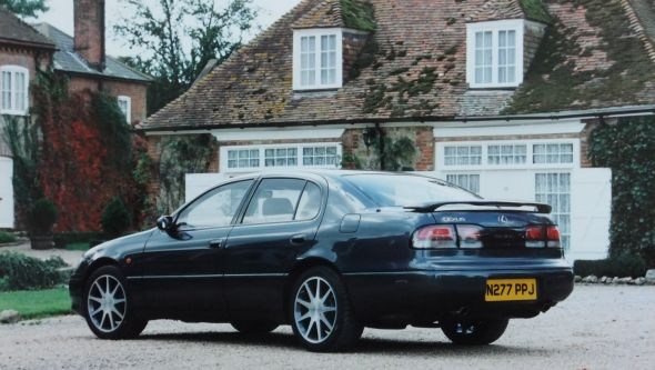 History of the Lexus GS first-gen