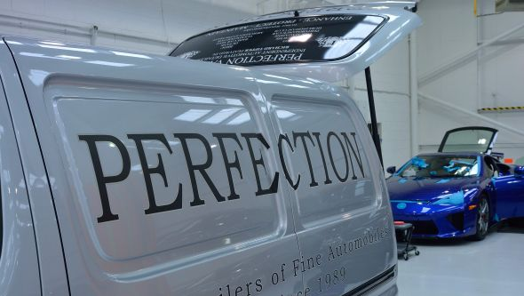 Lexus LFA ultimate car cleaning guide perfection