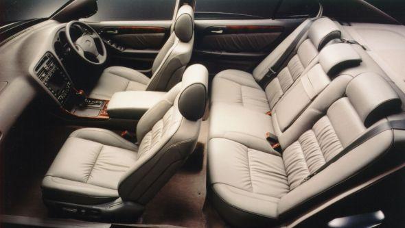 History of the Lexus GS interior