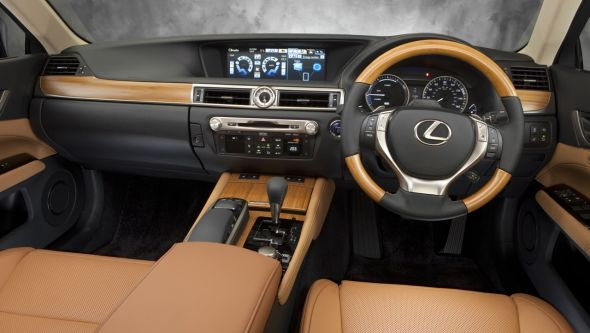 History of the Lexus GS 450h interior