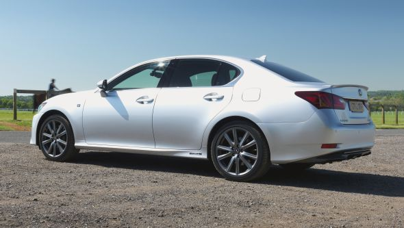 History of the Lexus GS 450h