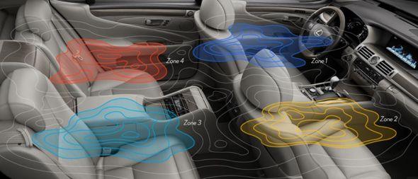 Lexus Climate Concierge system
