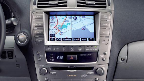 IS 250 sat nav History of Lexus navigation systems