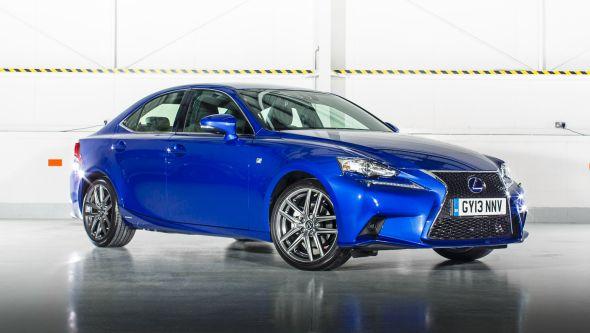 Lexus IS blue