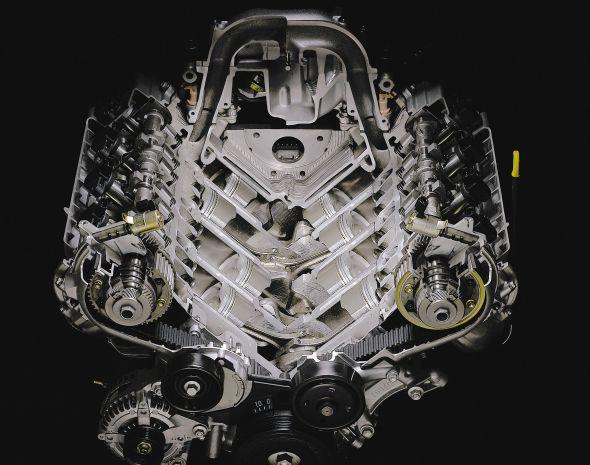 third-generation Lexus LS 430 engine