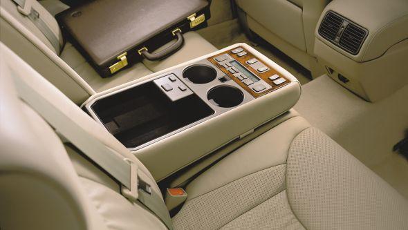 third-generation Lexus LS 430 rear seats