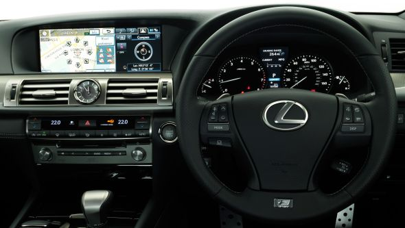 LS 460 History of Lexus navigation systems