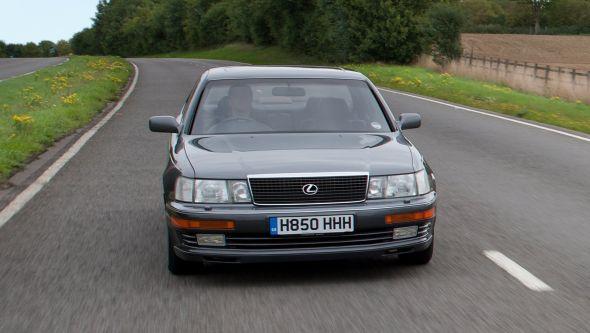 Lexus LS 400 history