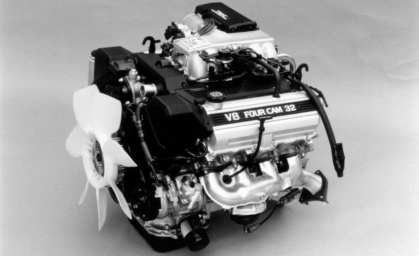 Lexus LS 400 history 1UZ-FE engine