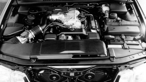 Lexus LS 400 history engine bay