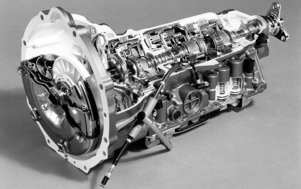 Lexus LS 400 history gearbox