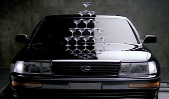 Lexus advert 1989