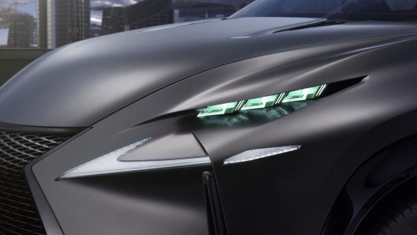 LF-NX headlights