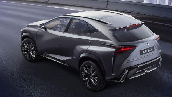 LF-NX rear side
