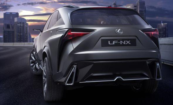 LF-NX rear