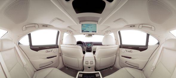 LS 460 interior