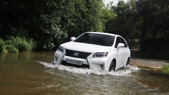 RX 450h: The all-weather Lexus ford