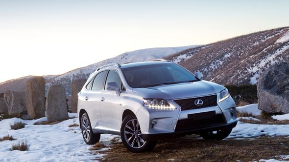 RX 450h: The all-weather Lexus snow