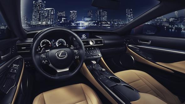 Lexus_RC_interior
