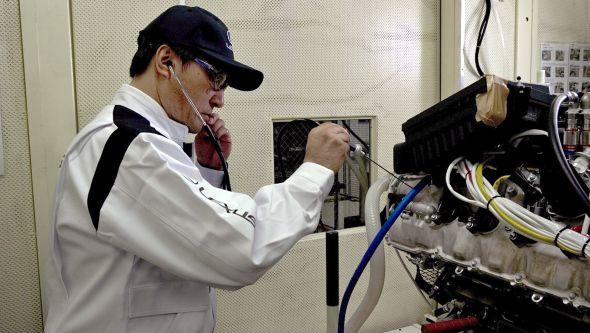Sound-testing engine