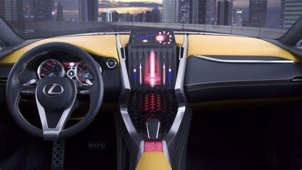LF-NX interior 03