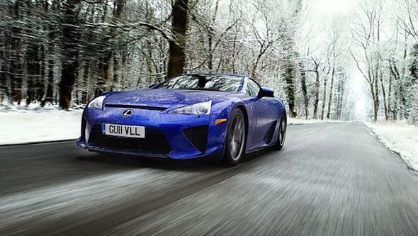 Top Gear Lexus LFA
