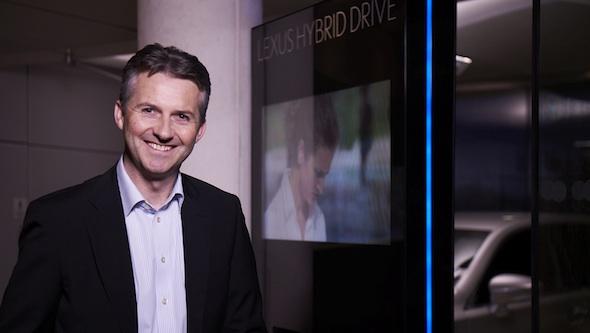 Paul ven der Burgh, Director of Lexus Europe