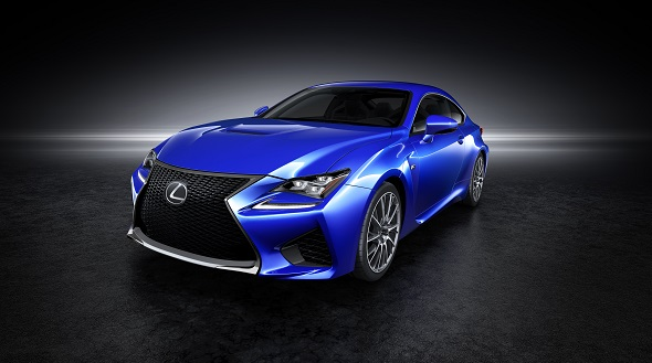 Lexus RC F first picture