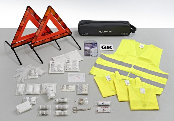 Lexus European Safety Kit 01