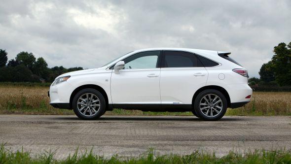 RX 450h profile