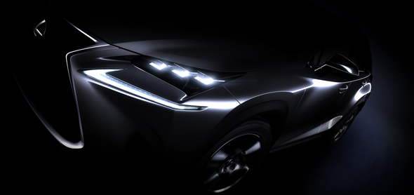 Lexus NX teaser