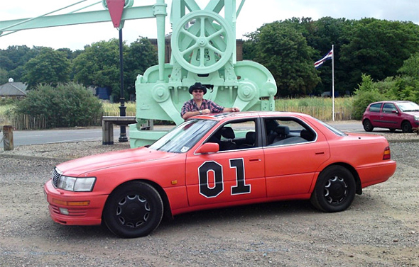 The General Lee(xus) and Phil Huff