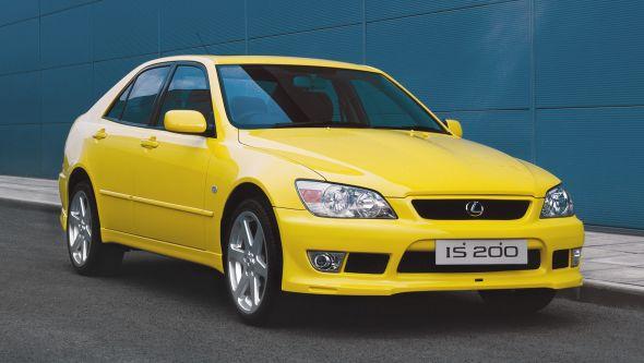 Amarillo yellow IS200