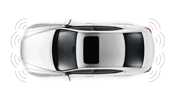 Lexus car safety monitoring systems Parking Sensors